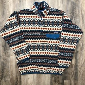 Patagonia Synchilla Patterned Pullover Fleece